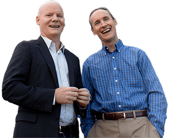 Tom and David Gardner, co-founders of The Motley Fool