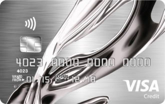 Vanquis Bank Chrome Credit Card Logo